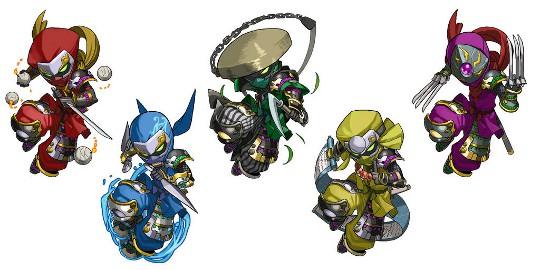 忍者シリーズの進化版