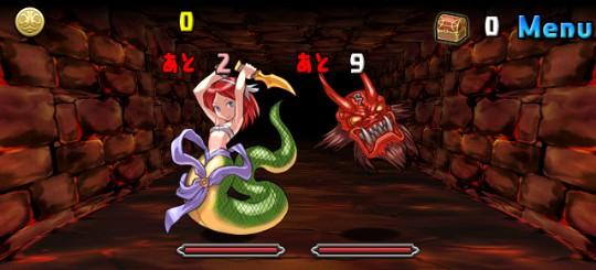 【アンケートダンジョン4】紅の蛇姫 中級 ノーマルモンスター