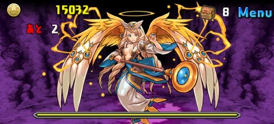 【闇の歴龍(火木光3色限定)】 冥き孤島 地獄級 9F 天空の使徒・エンジェル