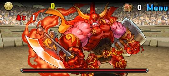 アテナ降臨! 超地獄級 豪腕の巨人・ギガンテス