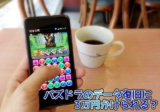 【投票】パズドラのデータ復旧に3万円かけられる?