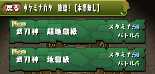 タケミナカタ 2難易度