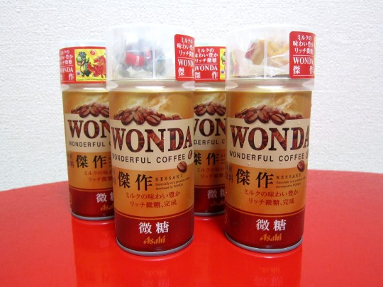 WONDA微糖 ショット