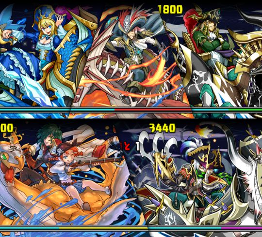 超絶ドラゴンラッシュ2! 3F 海賊龍