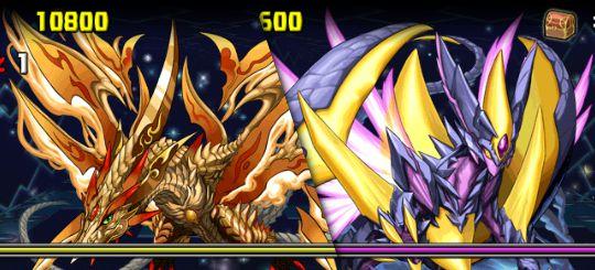 超絶ドラゴンラッシュ2! 4F ソルプテラドス&ルナデスピナス