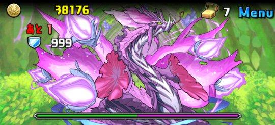 紫の華龍 地獄級 ボス 紫の華龍・オーキッド