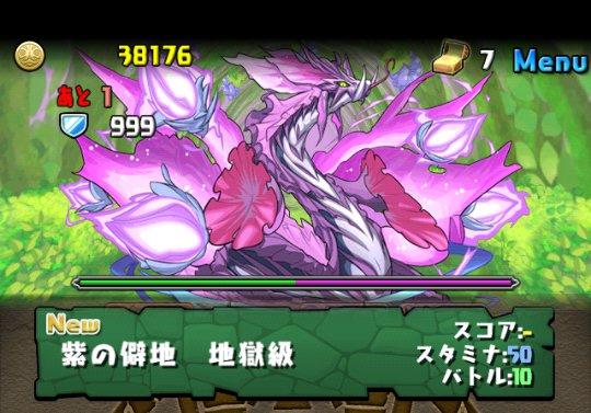 紫の華龍 地獄級 攻略&ダンジョン情報