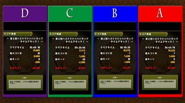 パズドラジャパンカップ決勝1