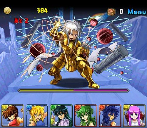 聖闘士星矢コラボ 公式ショット