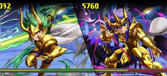 聖闘士星矢コラボ 超級 3F ミロ、シュラ