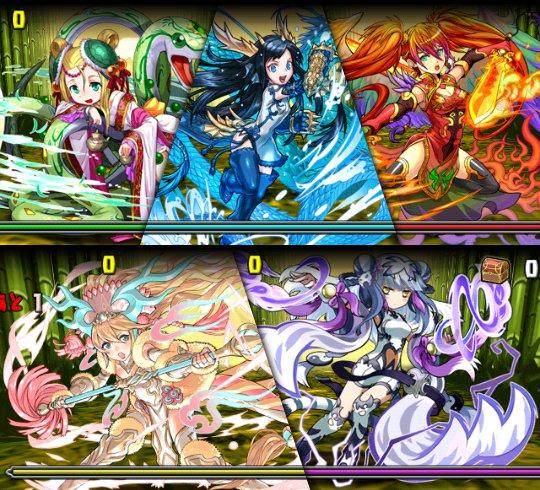 聖獣からの贈り物 ボス 四神たち