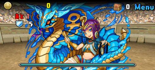 秘海の龍騎姫・クレオパトラ