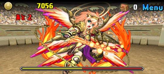 チャレンジダンジョン Lv8 3F 神炎の熾天使・ウリエル