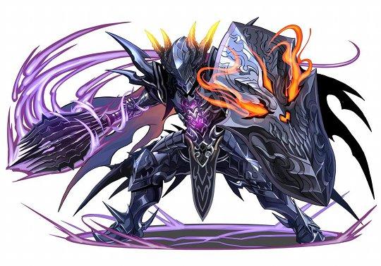 次回降臨のボス「暗黒騎士」のイラストを公開!