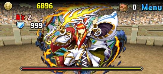 チャレンジダンジョン3 Lv6 4F 冶金の軍神・タケミナカタ