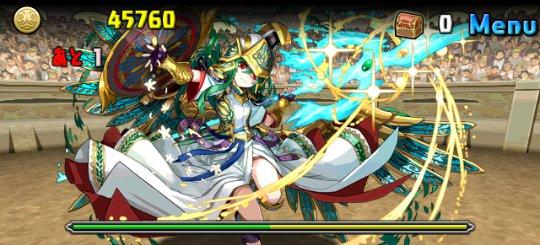 チャレンジダンジョン3 Lv10 5F 聖都の守護神・アテナ