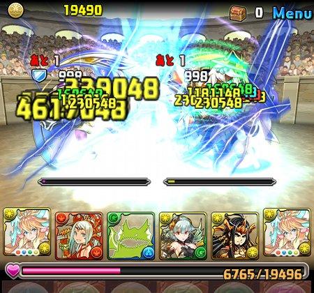 チャレンジダンジョン3 Lv7 4F トト&ソティス撃破
