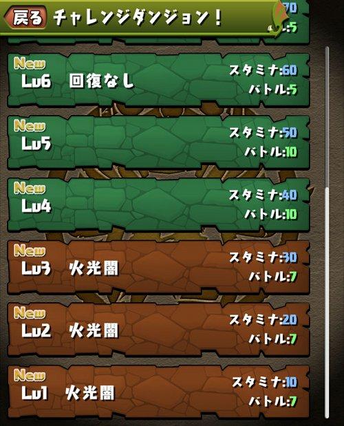 チャレンジダンジョン4