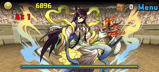 チャレンジダンジョン Lv6 4F 万物の妃神・イザナミ