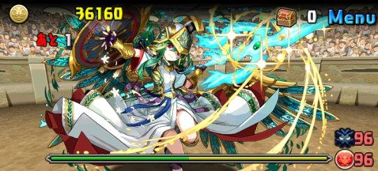 チャレンジダンジョン4 Lv10 4F 聖都の守護神・アテナ