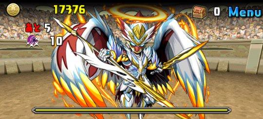 チャレンジダンジョン5 Lv8 5F 神癒の大天使・ラファエル