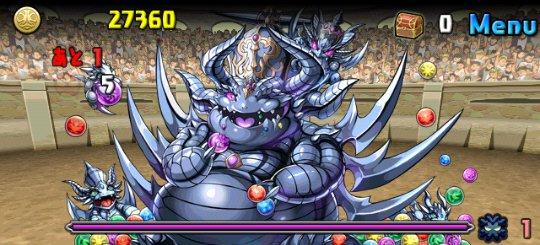 チャレンジダンジョン5 Lv9 6F 超絶キングメタルドラゴン