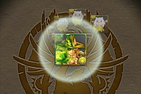 光槍の魔術神・オーディン たまドラ合成