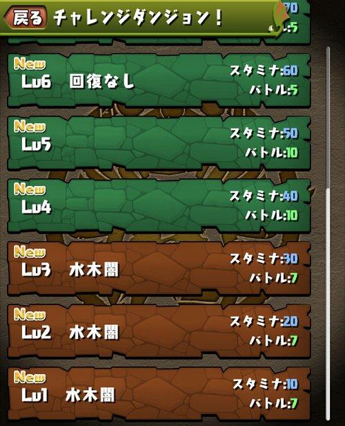 チャレンジダンジョン6