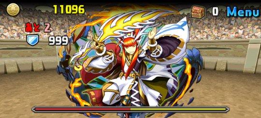 チャレンジダンジョン6 Lv6 4F 冶金の軍神・タケミナカタ