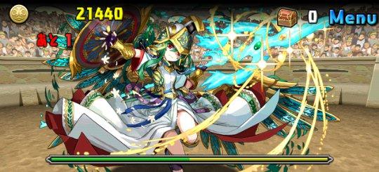チャレンジダンジョン8 Lv10 3F 聖都の守護神・アテナ