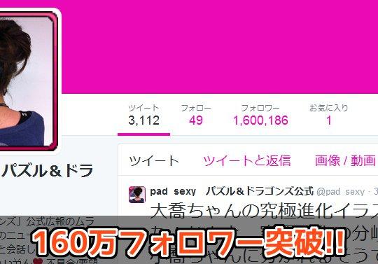 【日本で15位】公式Twitter・ムラコのフォロワーが160万を突破!