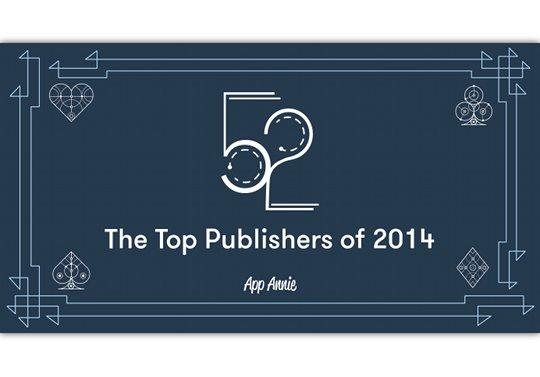 ガンホーが2014年アプリ開発元売上ランキングで世界3位に!