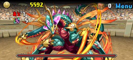 チャレンジダンジョン10 Lv4 5F 炎の蟲龍・フラムシックル
