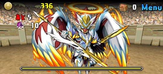 チャレンジダンジョン11 Lv8 2F 神癒の大天使・ラファエル