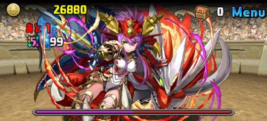 チャレンジダンジョン11 Lv10 3F 絶世の紅龍喚士・ソニア