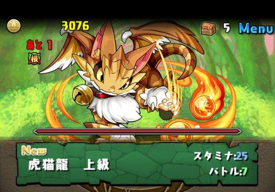 火の猫龍【水なし】 上級 攻略&ダンジョン情報