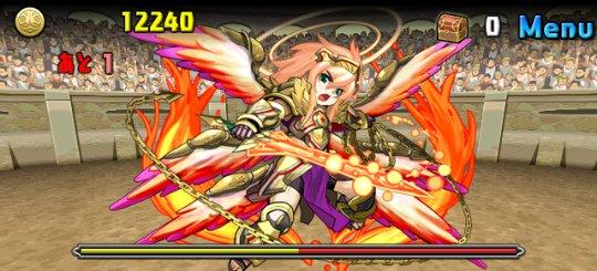チャレンジダンジョン14 Lv8 4F 神炎の熾天使・ウリエル