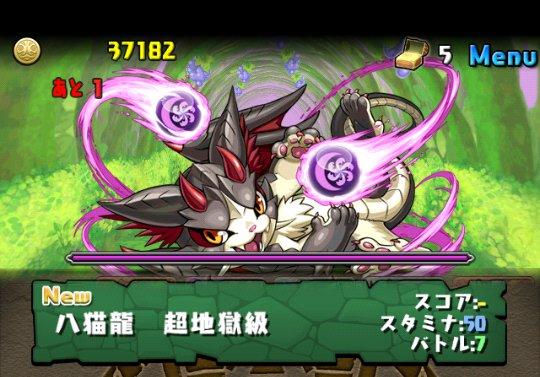 闇の猫龍【光なし】 超地獄級 攻略&ダンジョン情報
