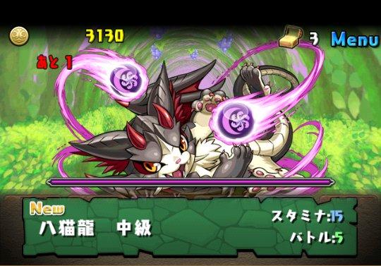闇の猫龍【光なし】 中級 攻略&ダンジョン情報