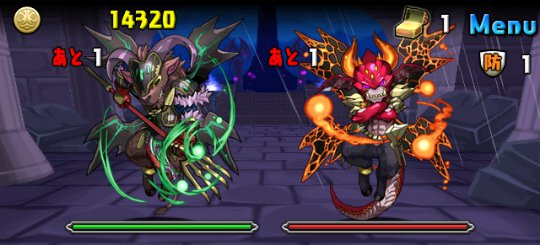 スカーレット降臨!【特殊】 超絶地獄級 2F デーモン2体