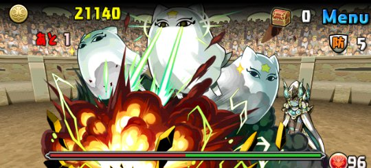チャレンジダンジョン17 Lv7 4F 冥穣の守護神・メジェドラ