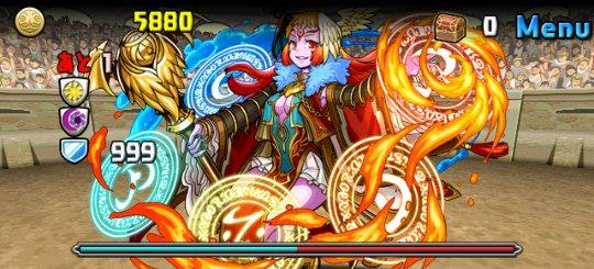 チャレンジダンジョン Lv8 2F 紅輪の魔導姫・テウルギア