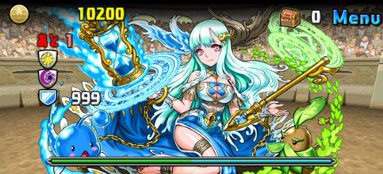 チャレンジダンジョン Lv8 3F 蒼刻の魔導姫・アルス=パウリナ