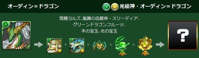 オーディン=ドラゴンの究極進化素材