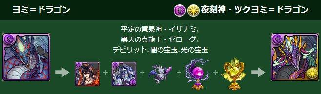 ヨミ=ドラゴンの究極進化素材