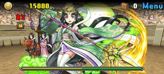 チャレンジダンジョン Lv6 ボス 竹取の翠月花・かぐや姫