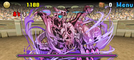 チャレンジダンジョン22 Lv5 2F ドラゴンゾンビ