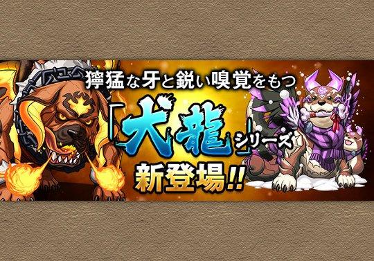 新しいスペダン龍は「犬龍」シリーズ!来週から登場