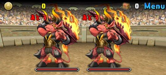 チャレンジダンジョン23 Lv4 1F 迷宮の獣人・ミノタウロス