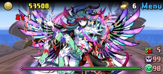 リンシア降臨!【特殊】 超絶地獄級 ボス 玻璃の風龍王・リンシア